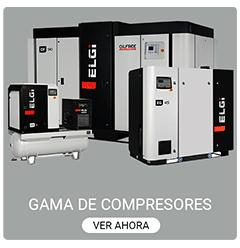 Compresores industriales de tornillo ELGI ACOFRI