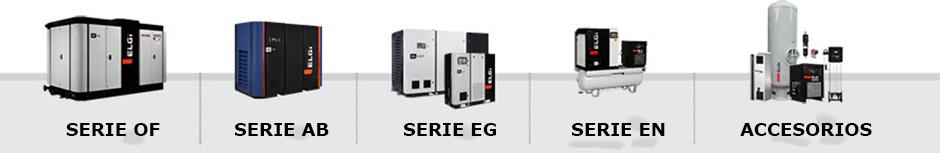 elgi serie compresores de aire industrial