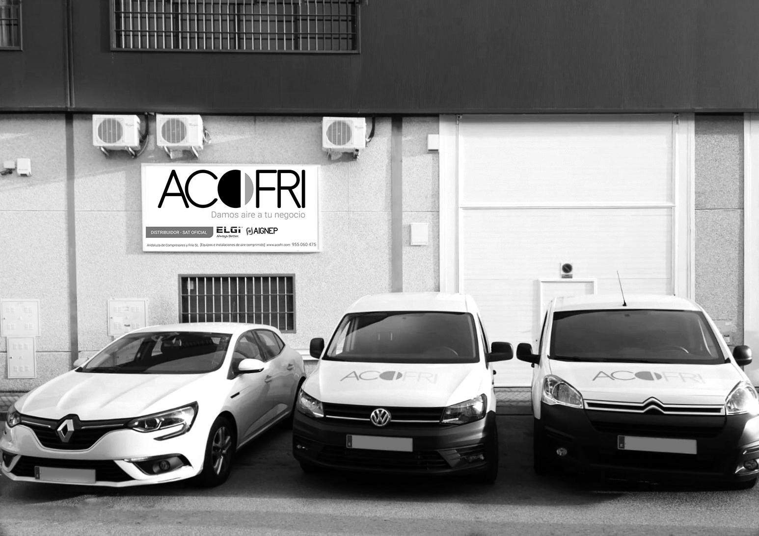 ACOFRI especialistas en compresores de aire industrial
