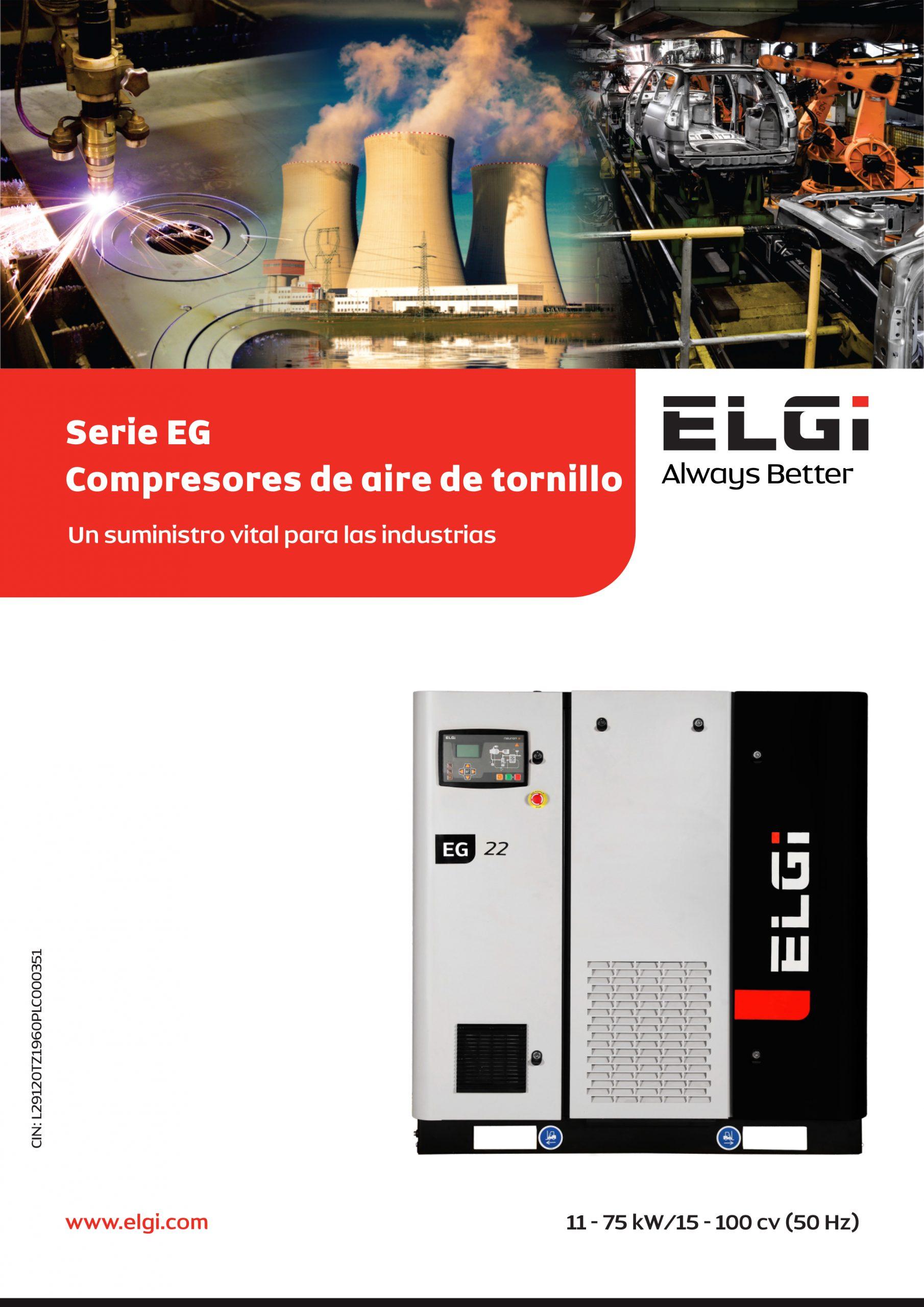 Compresor ELGI serie EG